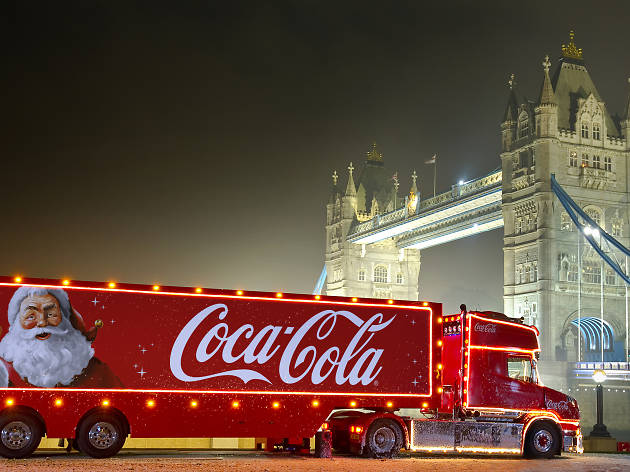 Coca-Cola Christmas Truck Tour