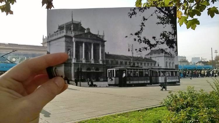 Main train station (Glavni kolodvor)