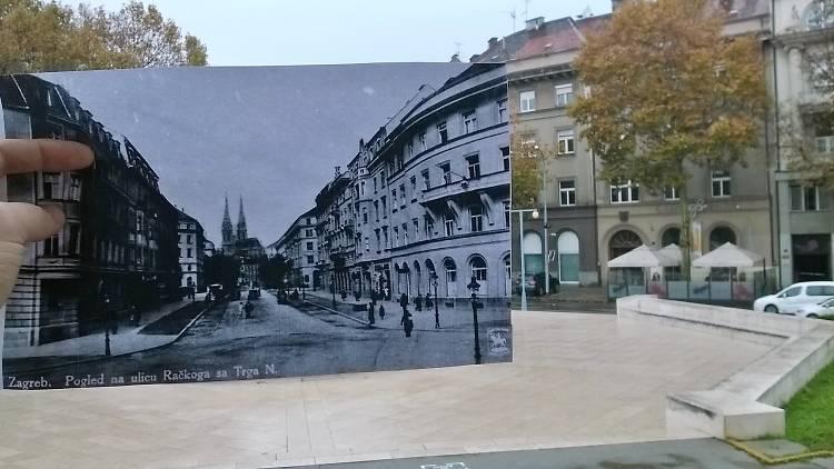 View at Franjo Rački street
