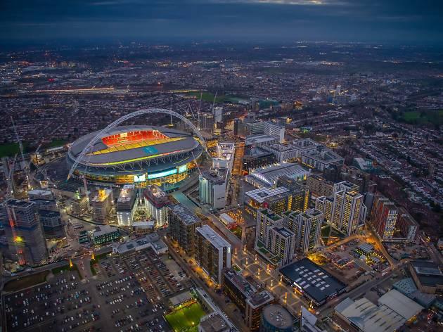Wembley Park and Wembley Stadium