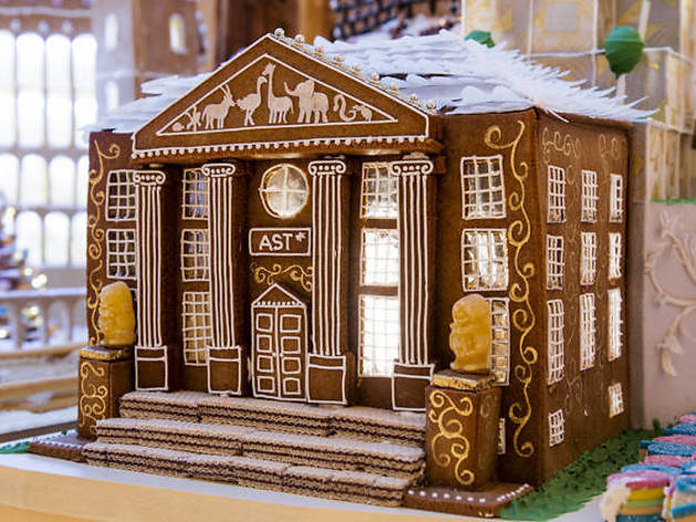 Giant gingerbread houses are taking over London – and some of them are edible!