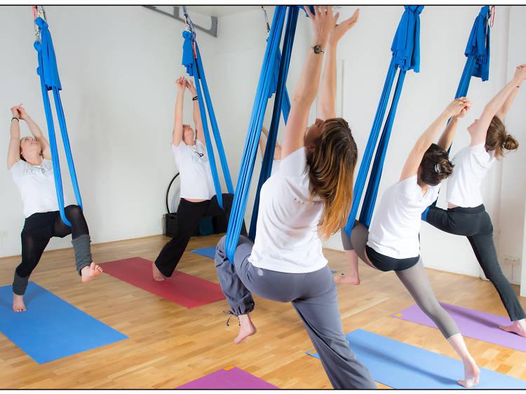Fly Yoga © chez Fly Yoga Paris