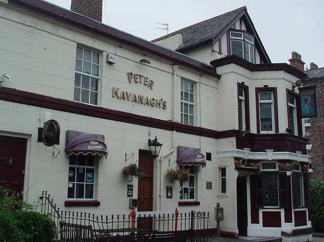 The exterior of Peter Kavanagh's in Liverpool