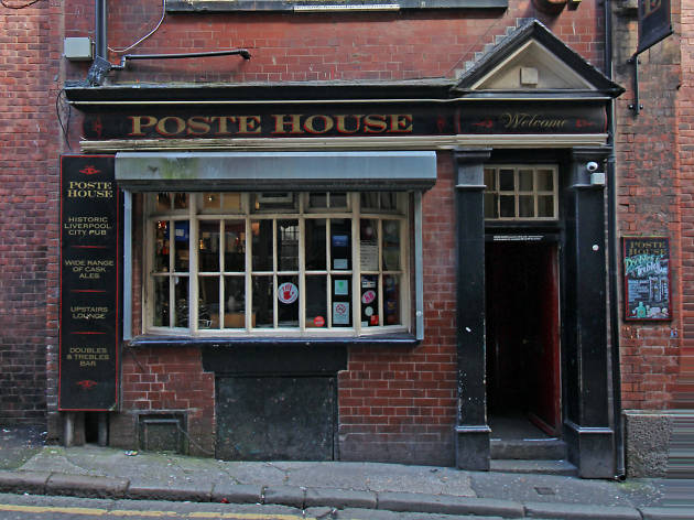 The exterior of the Poste House in Liverpool