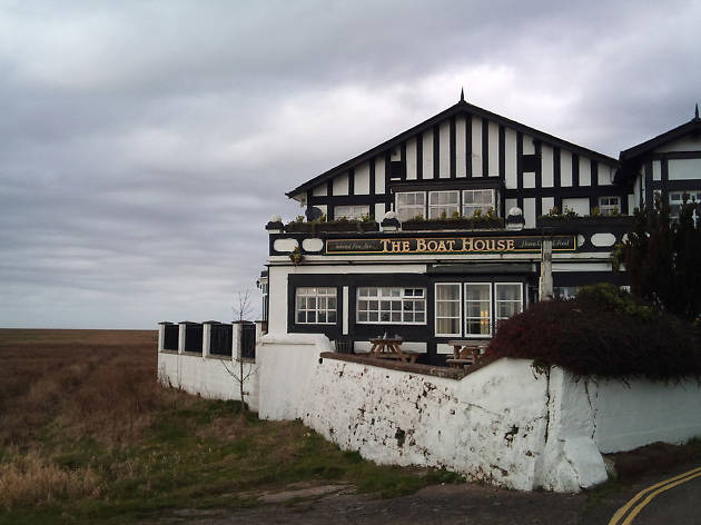 The exterior of the Boat House in Parkgate