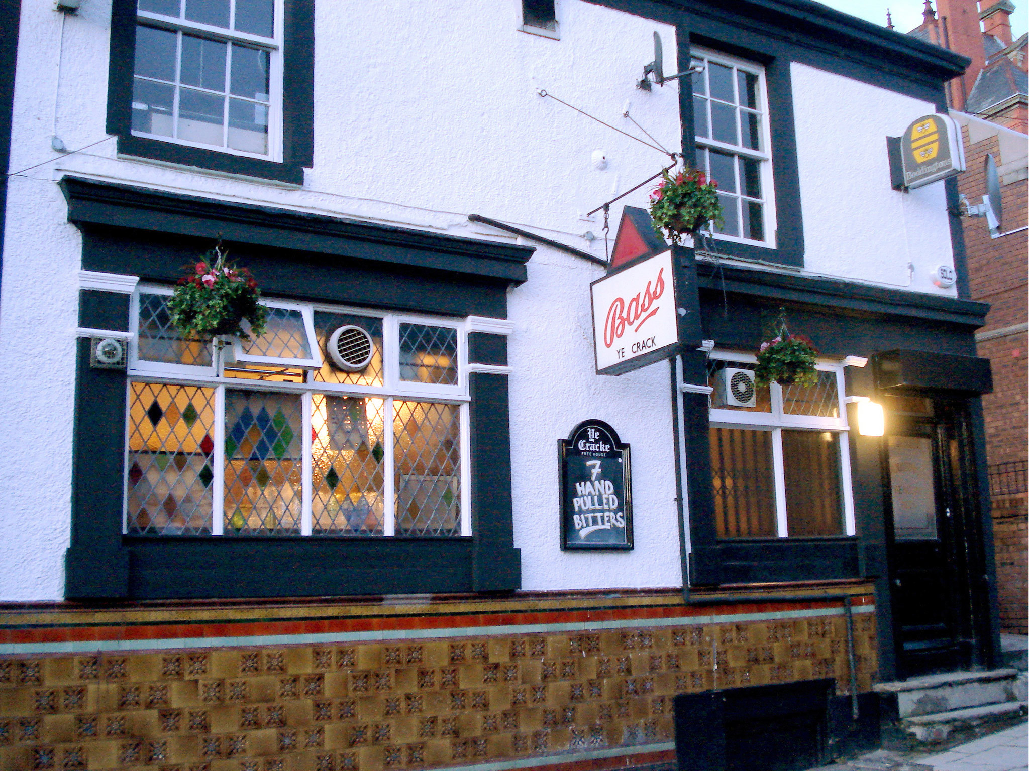 The exterior of Ye Cracke in Liverpool