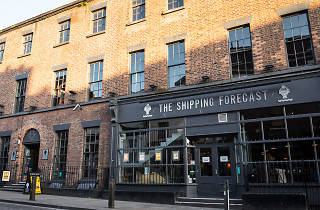 The exterior of the Shipping Forecast