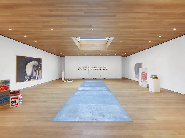 "Installation view of ""Third Dimension: Works from The Brant Foundation"""