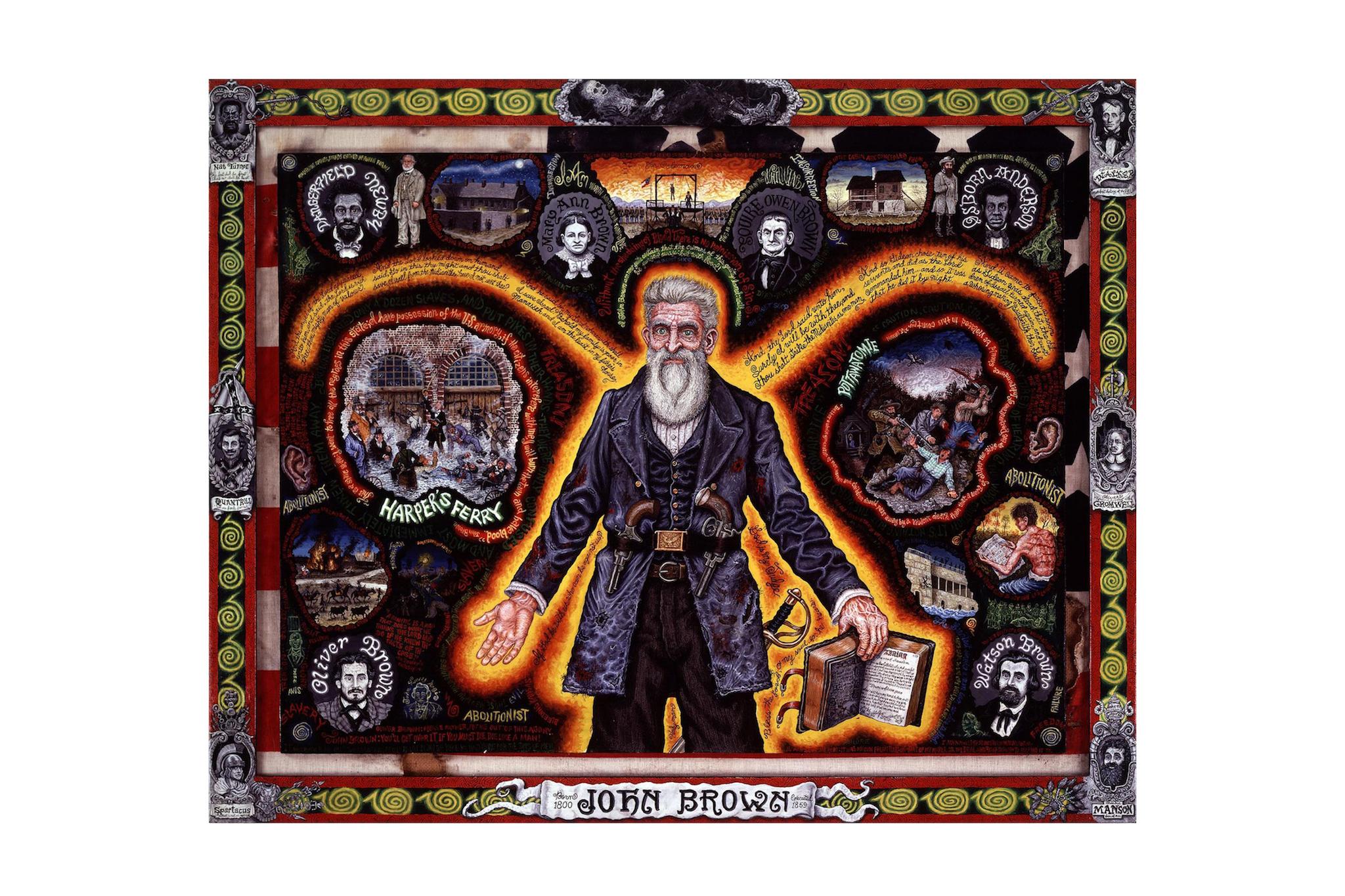 Joe Coleman, Old Man Brown, 1995