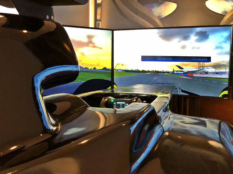 Simulador de Fórmula 1