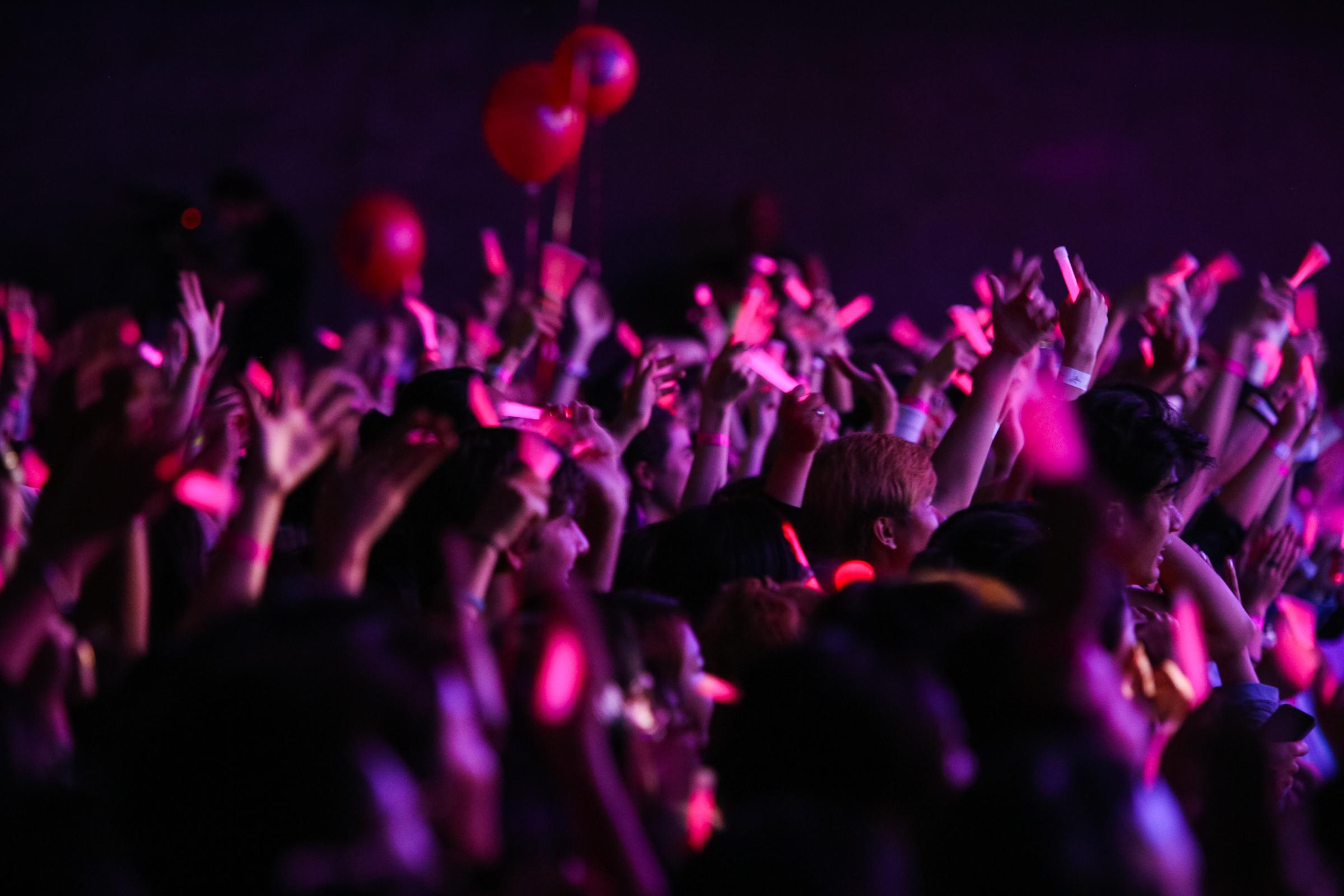 A crowd at Asia Pop Fest