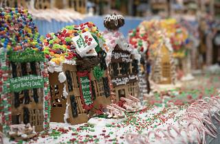 Gingerbread Lane at NySci