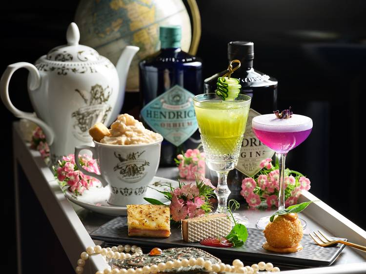 Join us for a gin-filled afternoon tea at Idlewild