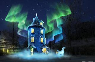 WINTER WONDERLAND in MOOMINVALLEY PARK