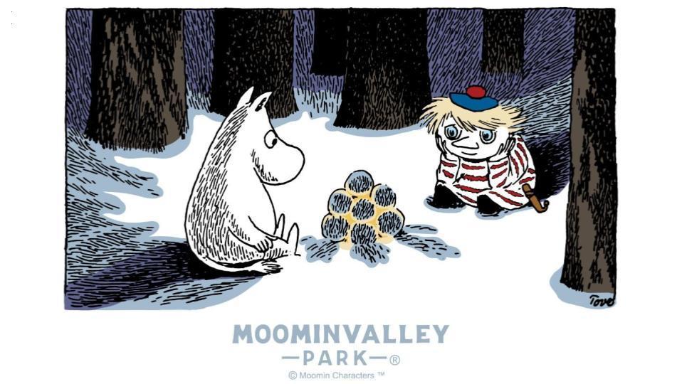 WINTER WONDERLAND in MOOMINVALLEY PARK