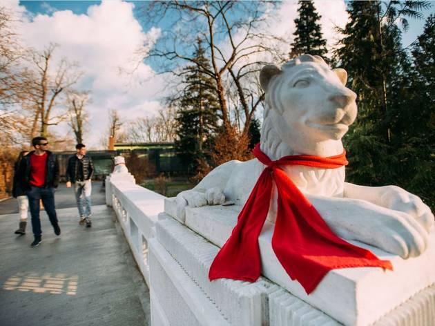 Maksimir zoo bridge
