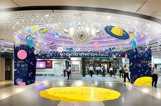 東京駅一番街ウィンターイルミネーション
