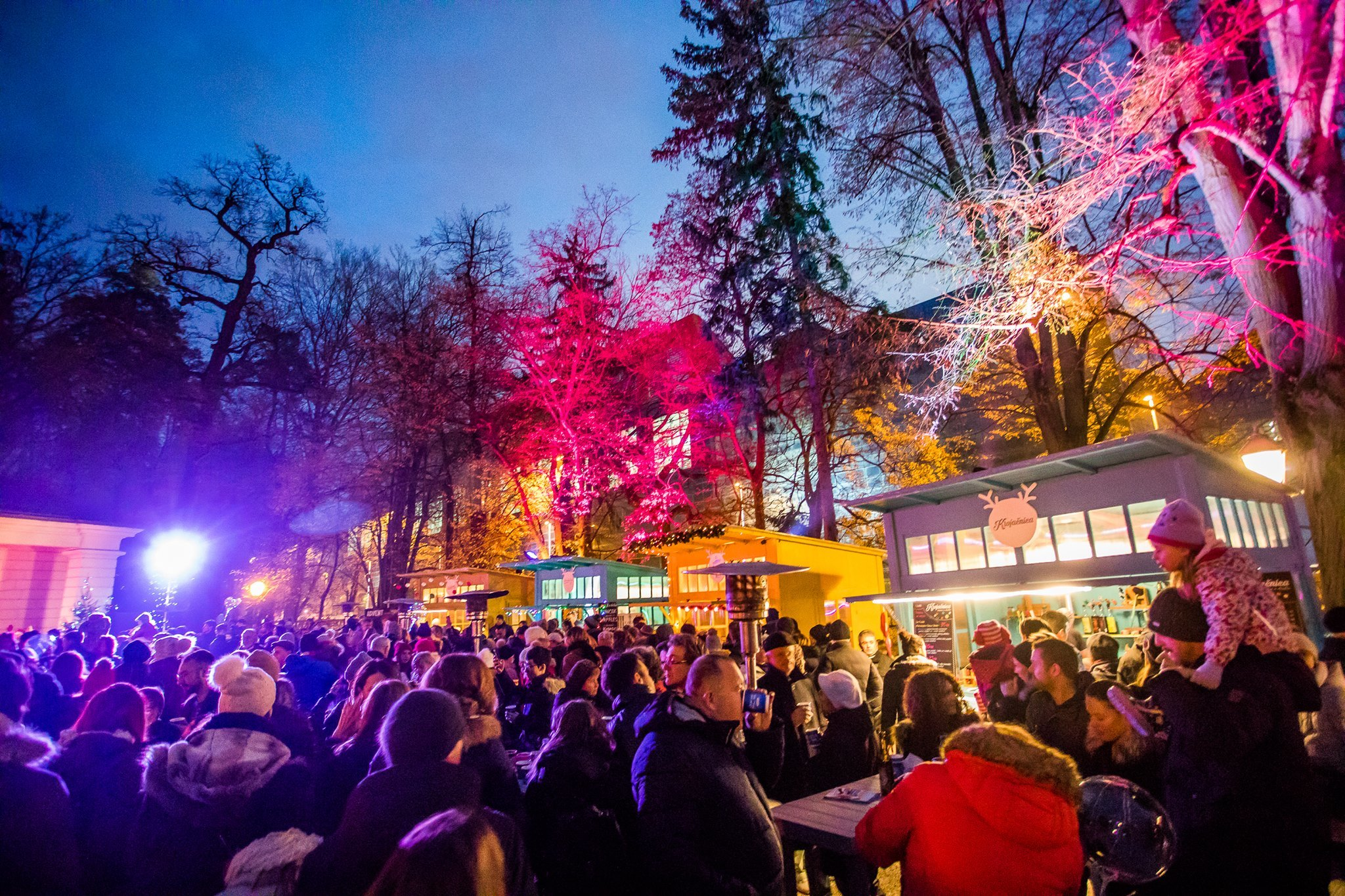 Advent at Maksimir