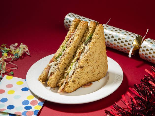 Greggs Christmas Sandwich