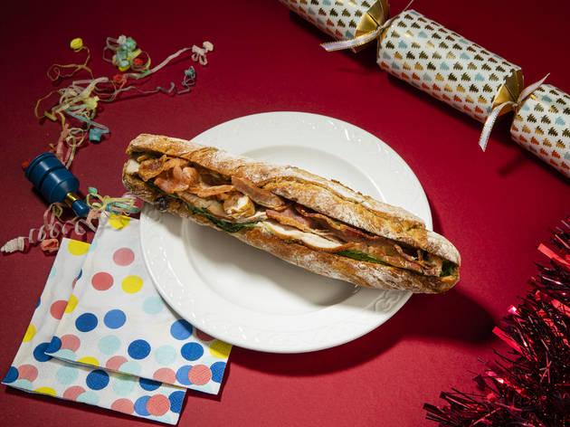 London's best Christmas sandwiches