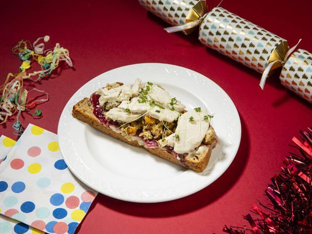 Pret gluten-free Christmas sandwich