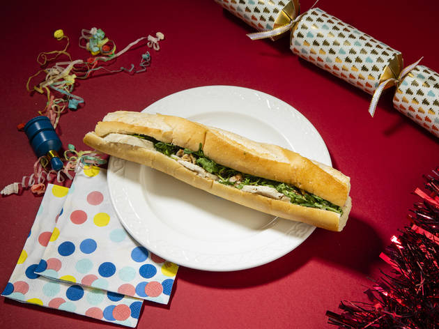 Pret Christmas baguette