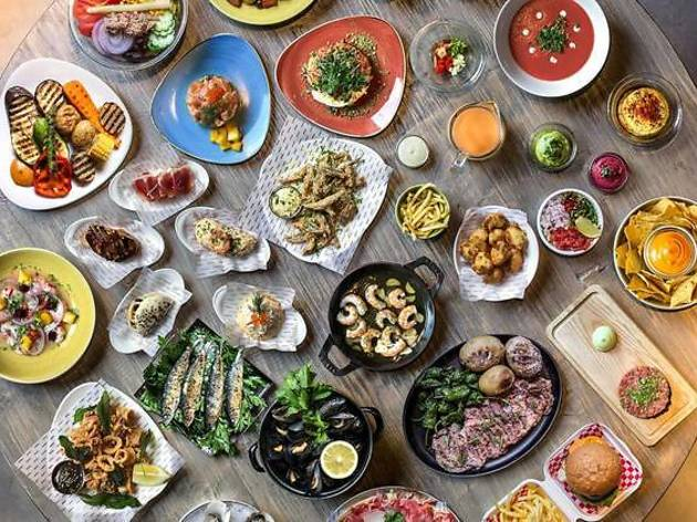 El mundo en la mesa en los restaurantes Labarra