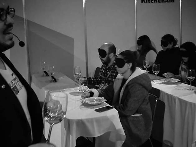 The Blind Dinner Experience: