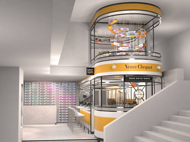 A tram-themed champagne bar is opening inside Selfridges