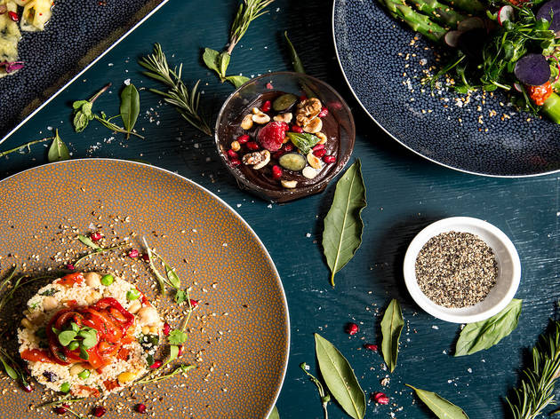 43% off a three-course vegan menu and cocktail at Saint Luke's Table