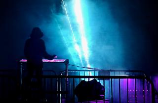 Barking Riverside Presents: Seb Lee-Delisle's Laser Light Synths