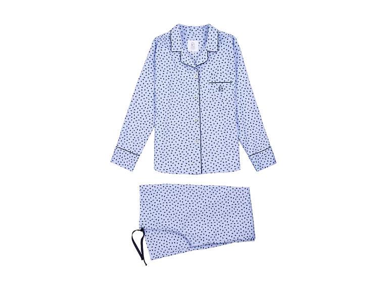 Pijama azul estampado Kiff-Kiff