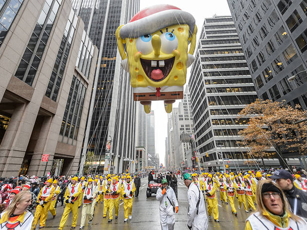 The Macy's Thanksgiving Day Parade will feature a new balloon and a new float from Nickelodeon!