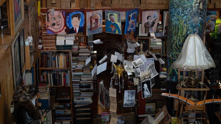 Librería de Paso Jorge Cuesta en la colonia Juárez