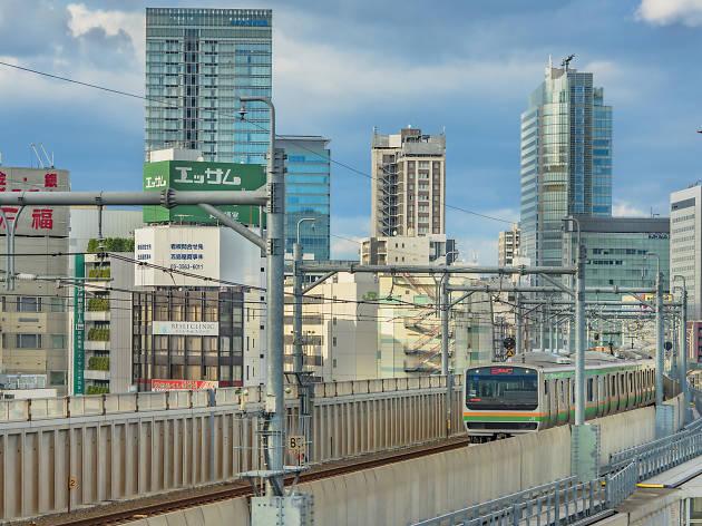 JR Yamanote line - Kanda Station