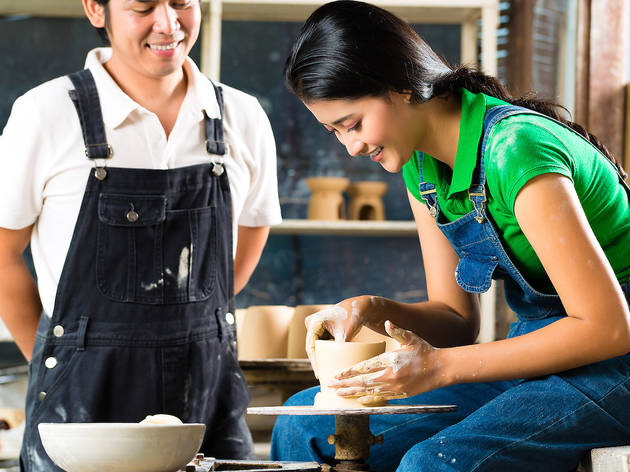 57% off a BYOB pottery experience with Token Studio