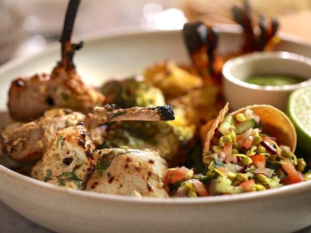 Six sharing dishes for £25 at Kanishka