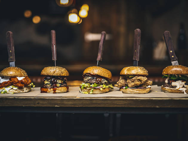 30% off a Christmas special burger, fries and a beer at BrewDog