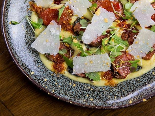 Three courses and a glass of prosecco at Lima Fitzrovia