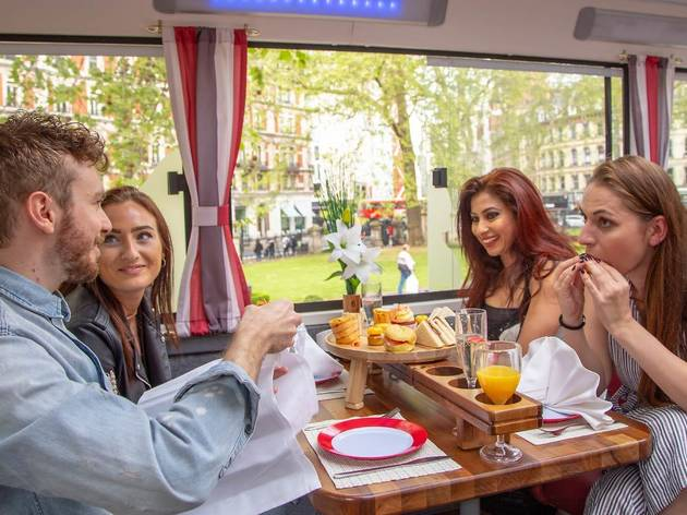 47% off afternoon tea bus experience from Golden Tours