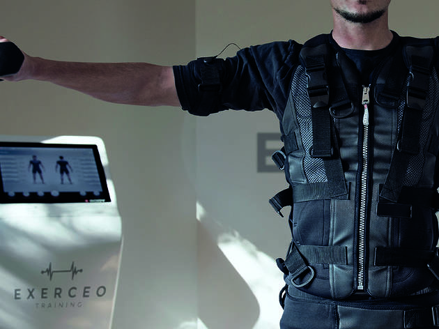 59% off three electric muscle stimulation sessions