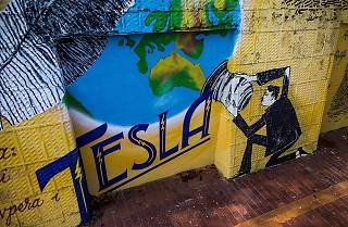 Tesla at the Upper Town