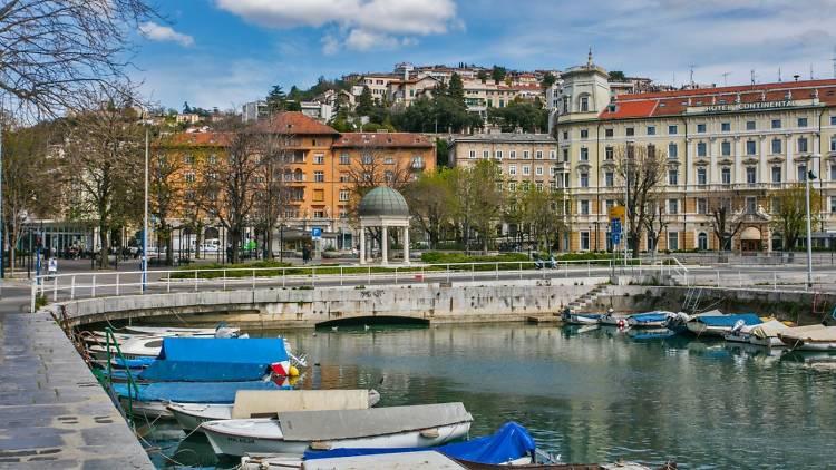 Dead channel in Rijeka