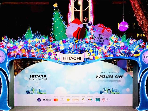 Orchard Road Lights Up For Christmas On A Great Street