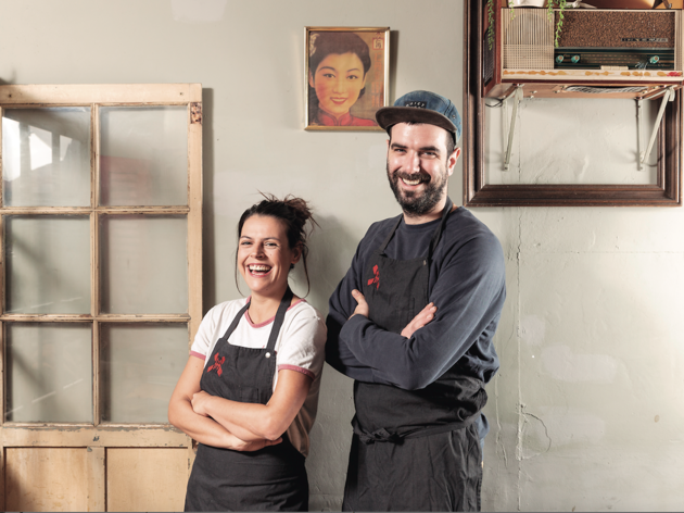 Raquel Blasco i en Marc Santamaria
