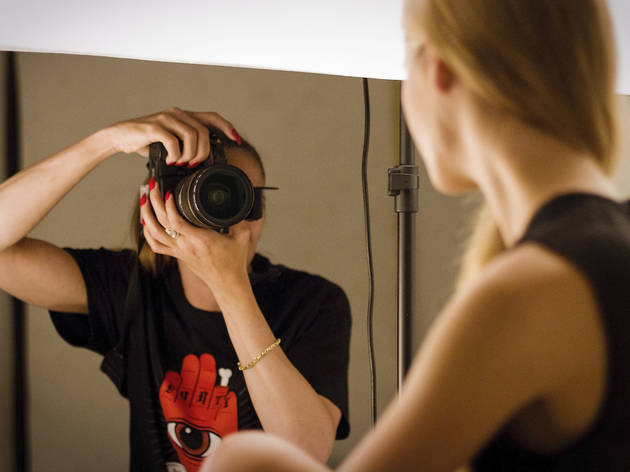 75% off a half-day session at Photography Course London