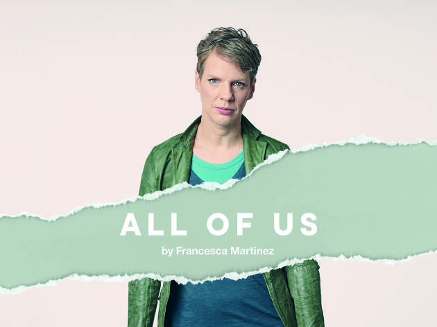 Francesca Martinez will star in 'All of Us' at National Theatre