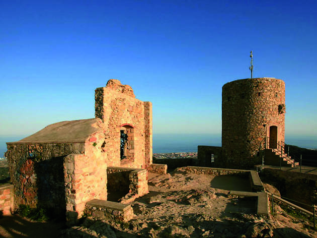 Castell de Burriac, Cabrera de Mar