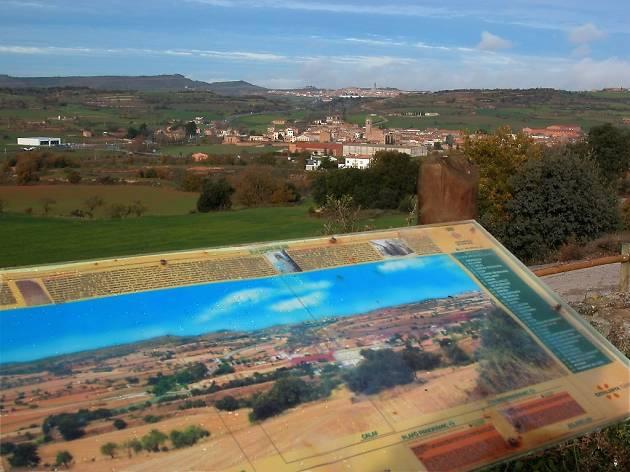 Mirador de la Torre Manresana, a Els Prats de Rei