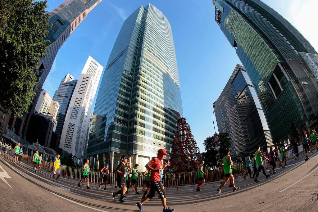 Upcoming running events and races in Singapore